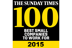 [ 2015 ] Named as one of the Top 100 Small Businesses